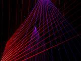 El RGB escoge el diodo láser del efecto de la lluvia de 8 ojos