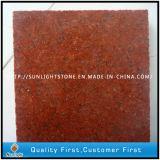 Granito vermelho polido de borracha G657 para azulejos de assoalho / parede