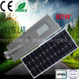 Integriertes Solar-LED Straßenlaterne80W des neuen Entwurfs-