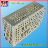 高精度のパネルの打つ金属ボックス、亜鉛めっき(HS-SM-001)と押す精密