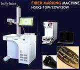 Prix européens de machine gravure de laser de fibre de modèle