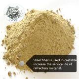 Rostfreie Schnitt-Stahldraht-Stahlfaser für feuerfestes Material