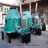 Deshidratación centrífugo tornillo vertical máquina para la papilla de carbón