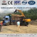 Caricatore di legno della canna da zucchero del caricatore Bd95 della nuova della rotella gru a benna del legname