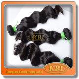 Человеческие волосы 100% бразильянина Remy девственницы