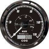 Популярные 85мм GPS спидометр 0-15 узлов 12V 24V с подсветкой