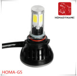 FCC, CE RoHS Ceritification G5 coche Faro LED 9005 9006 bombilla LED 40W de luz LED 80W