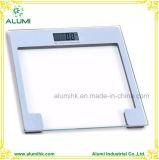 Pantalla LCD grande de cristal templado báscula de baño personal para Hotel
