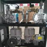 2개의 분사구의 연료 분배기 2개의 펌프 4개의 전시