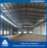 Estructura de acero del estándar de ISO con el material de construcción de acero para el almacén