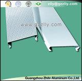 Techo linear cerrado C-Shaped de aluminio del techo excelente del metal