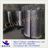 Poudre métallique Ferro Alloy Casi à Casi Cored Wire Taux de remplissage 230G / M 2mt / Coil