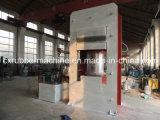 Machine de pressage à vapeur de platine de chauffage 100t