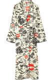 Qualität und niedriges MOQ Cindy druckten Krepp-Verpackungs-Kleid-Großverkauf