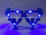 Zonnebril die van de LEIDENE de hart-Gevormde Partij van de Nieuwigheid Gift adverteren