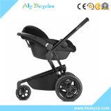 Новый продукт 3 в 1 прогулочной коляске младенца реверзибельного места системы перемещения красной