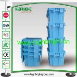 ふたが付いているプラスチックNestableおよびスタック可能戦闘状況表示板ボックス容器