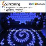 Diodo emissor de luz novo Dance Floor colorido da chegada P62.5