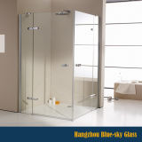 Zhejiang Factory 6mm 8mm Shower Enclosure를 위한 10mm 12mm Clear 또는 Frosted Tempered Glass