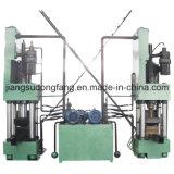 Machine verticale de machine à briquettes pour frites en aluminium