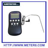 クロック機能、プローブとの秒読み機能のDTH-11デジタルの食糧温度計、