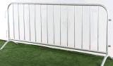 교차하는 발 강철 소통량 방벽을%s 가진 직류 전기를 통한 군중 통제 방벽
