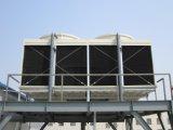 冷却塔の盛り土のブロック
