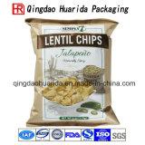 Прокатанный прозрачный пластичный мешок застежки -молнии упаковки еды для сыра/попкорна