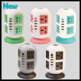 Universal Power Socket Strip 8 prises avec disjoncteur Home / Office Over Current Protector