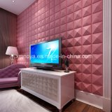 L'Art moderne de l'insonorisation TV 3D de fond du Conseil de mur décoratif