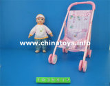 2016 New Plastic Novelty Trolley Baby Doll Toy Car (1038210)