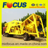 최신 판매! 초점 Yhzs35 (35cbm/h) Mobile 또는 Movable Concrete Batching/Mixing Plant