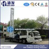 트럭에 의하여 거치되는 드릴링 리그 Hft350b
