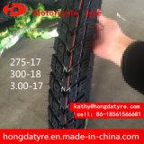 Heißer Verkaufs-Großverkauf-hochwertige chinesische Reifen-Motorrad-Gummireifen Emark Bescheinigung 275-17, 300-17, 325-16, 3.00-18 Öse-Muster