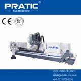 Centro-Pratic-Pyd que trabaja a máquina que muele de la maneta de puerta del CNC