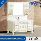 Simple Floor PVC Bathroom Vanity Cabinet Factory Hotel