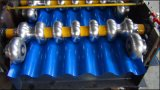 La feuille ondulée en aluminium de toit de Dx laminent à froid la formation faisant la machine