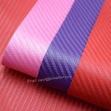 Il tessuto di cestino ha strutturato il cuoio sintetico del sacchetto impresso cuoio dell'unità di elaborazione