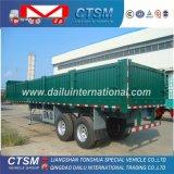 3-as 12m/12.5m Aanhangwagen van de Zijgevel van de Aanhangwagen van de Lading stortgoed de Semi