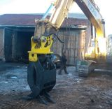 CE Certificate Hydraulic Grapple, Log Grapple, Stone Grapple Fits à Excavator dans 20-30 Tons