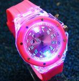 Le Silicone Watch Watch Watch LED en plastique