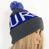 Hat/Cap adapté pour les hommes et femmes Chapeau tricoté au chaud dans l'hiver Beanie Hat une bande de broderie Hat