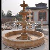 Fontana giallo sabbia del granito per la mobilia Mf-1286 del giardino