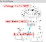 Переключатель Jk931-01dy 4130000503 Кнопк-Переключателя 4130000491/Rocker освещения запасных частей затяжелителя Sdlg LG936/LG938/LG956L/LG968 отсталый