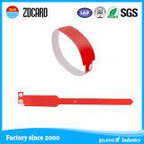 Sicherheits-VinylHostipal Baby RFID Identifikation-Armband/Wristband wasserdicht mit Aufkleber