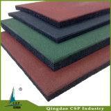 子供の運動場のための微粒のゴム製床をリサイクルしなさい