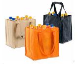 びんは飲むことが袋のワイン袋を運ぶ袋のびんのキャリアを運ぶ