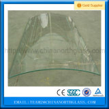 ясность 4mm 5mm 6mm 8mm 10mm 12mm согнула/изогнутое Tempered стекло для здания
