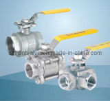 Moulage de filetage en acier inoxydable Ball Valves