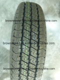Neumáticos del coche de la polimerización en cadena de Raidal de la marca de fábrica de Hilo (7.00R16, 7.50R16)